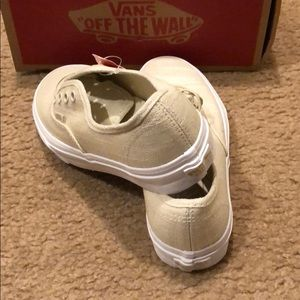Vans Shoes - Authentic Hemp Linen Vans